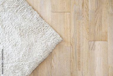 Beige soft carpet. Warm interior design